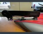 Комплект рулевого управления для надувной байдарки